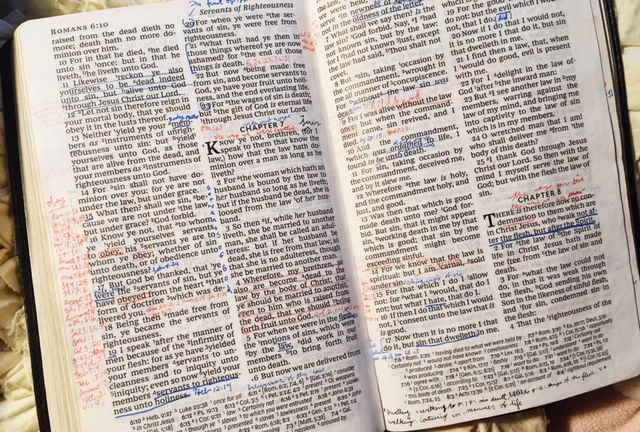 Bible notes in Romans
